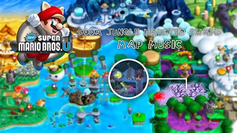 super mario bros  soda jungle haunted swamp map