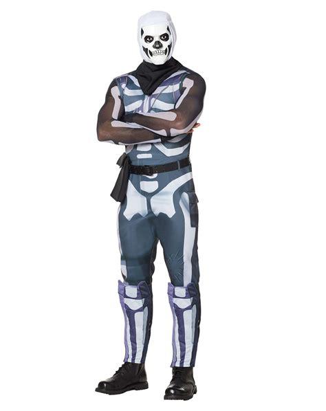 spirit halloween adult fortnite skull trooper costume