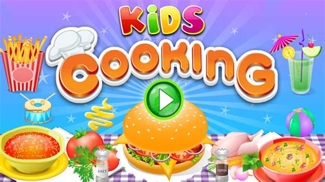 Food Games Cooking In The Kitchen Best Cooking Games For Kids To