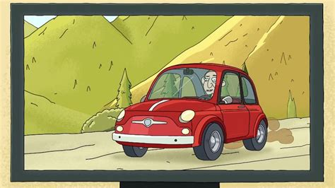 Rick Fiat by Imcdb Org Fiat 500 In Quot Rick And Morty 2013 2019 Quot