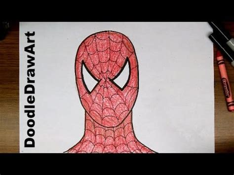 drawing   draw spider man step  step easy