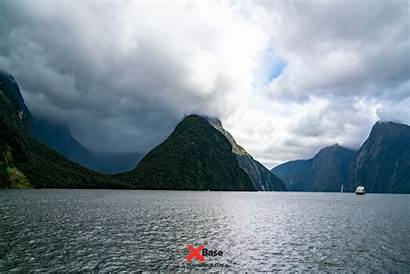 Zealand Scenery Milford Sound Location Proof Travel