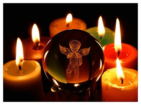 photo de bougie allumee rituel de benediction des bougies merlin voyances
