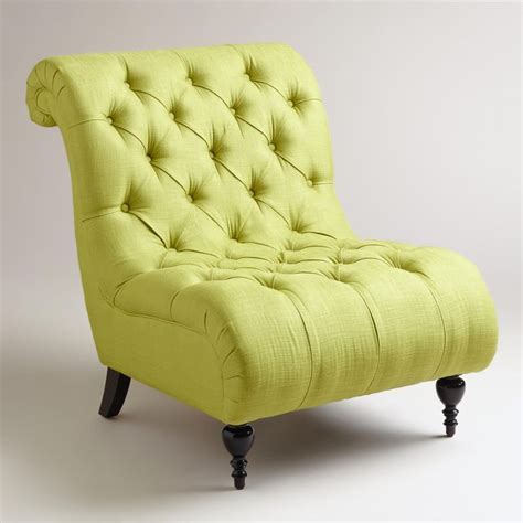 lime green accent chair for living room home furniture