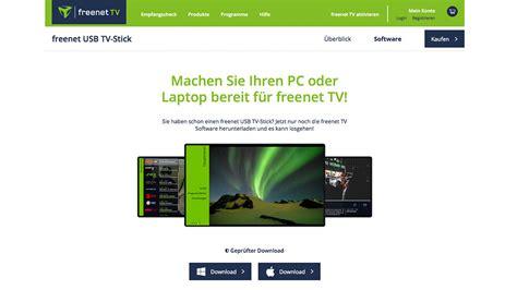 freenet update fuer dvbt  tv stick audio video foto bild