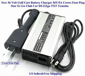 New 36 Volt Golf Cart Battery Charger 5a Star Ez Go Club
