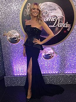 Tess Daly - Grand Final of Strictly Come Dancing: Black Dress