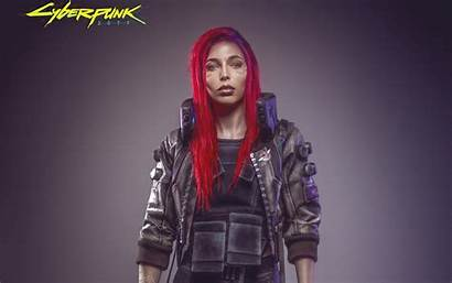 Cyberpunk 2077 Cosplay Female Wallpapers Sssniperwolf Games