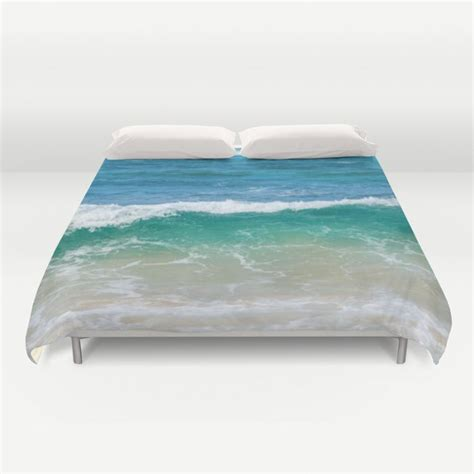 tropical ocean wave duvet cover toc beachlovedecorcom