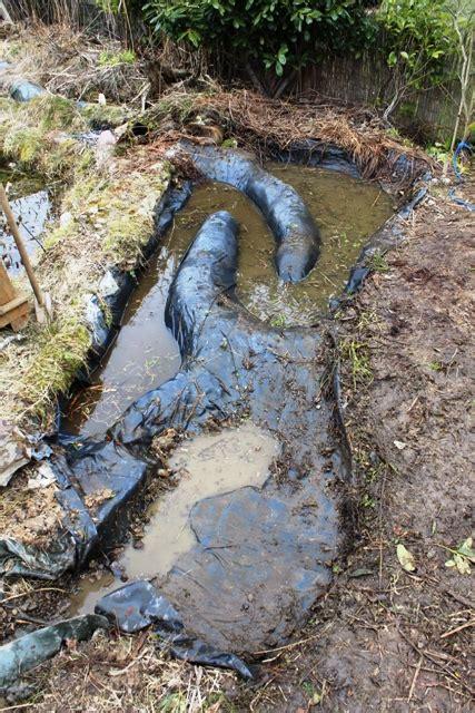wie bekommt schlamm aus dem teich bachlauf wptest naturteiche