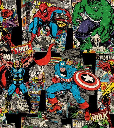 TIA04 Marvel Comics Vintage Character no Elo7 | Pannobom ...