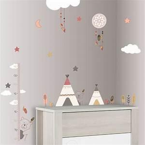 Stickers chambre bébé timouki de Sauthon baby deco sur