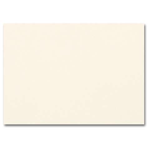 what color is ecru impressions ecru flat cards a1 3 1 2 x 4 7 8 80