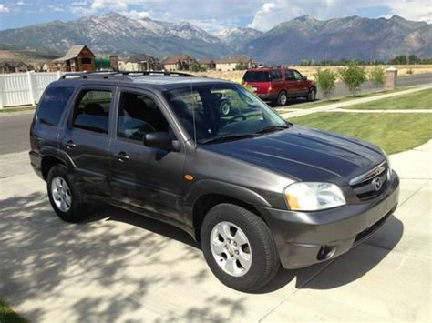 Buy Used 2004 Mazda Tribute Lx Sport Utility 4-door 3.0l
