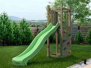 Chalet Jardin Boutique : portique en bois pour enfants funny escalade ~ Melissatoandfro.com Idées de Décoration