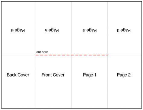images  book folding template printable  printable folding book template book