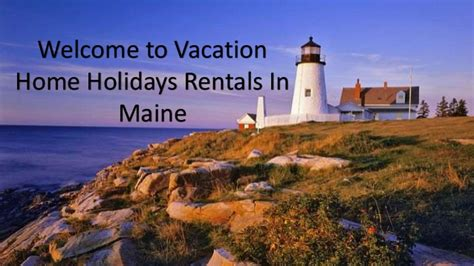 book vacation home rentals maine