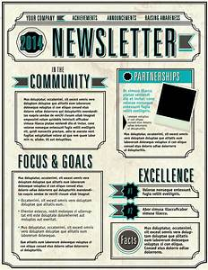 6 elements of a great email newsletter etmg for Staff newsletter template