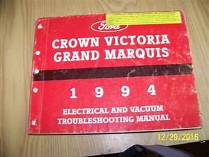 1994 Ltd Crown Victoria Grand Marquis Electrical Wiring