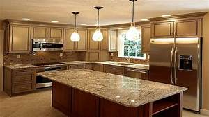 Brown Quartz Countertops For Kitchensgranite Kitchen Ideas