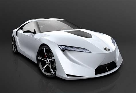 Toyota Concept Cars by Sport Cars 2012 Futuristic Toyota Ft Hs Hybrid