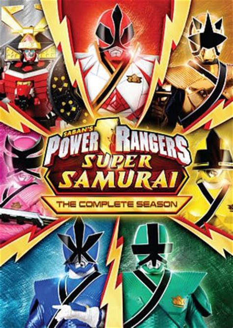 Power Rangers Super Samurai - Complete Series (3-DVD ...