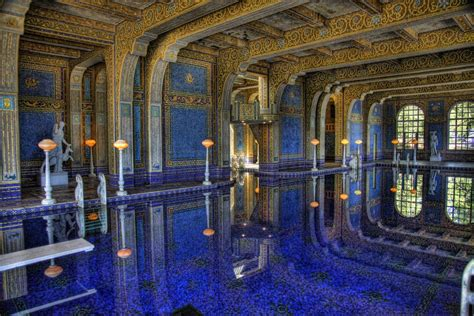 interieur villa de luxe digital imagery by bill the indoor pool at hearst castle