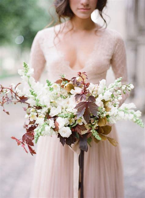 Bouquet Breakdown Elegant All White Mexico Wedding