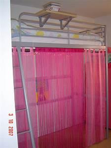 Lit Cabane Mezzanine : rideau de lit une cabane sous le lit mezzanine chambre d ~ Melissatoandfro.com Idées de Décoration