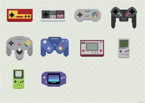 Nintendo Old School Console On Behance