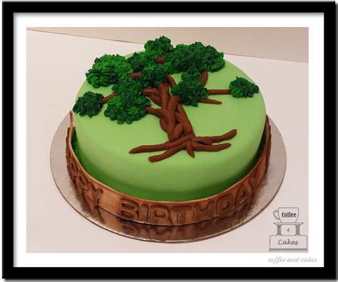 tree cake celebration of world environment day with cakes cake ideas for environment day