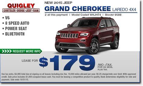 Jeep Cherokee Lease Deals  Lamoureph Blog