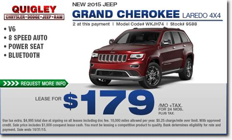 jeep grand cherokee lease special boyertown
