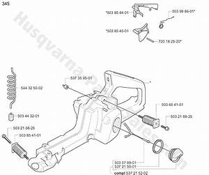 Husqvarna 345 Chainsaw Parts Manual