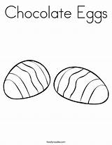 Coloring Chocolate Eggs Candy Pages Easter Noodle Twisty Popular Printable Print Coloringhome Books Twistynoodle sketch template