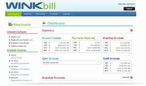 winkbillcom simple yet powerful invoicing web based With web based invoicing
