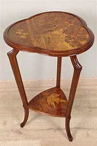 Art Nouveau Mobilier : gu ridon art nouveau sign gall xxe si cle ~ Melissatoandfro.com Idées de Décoration