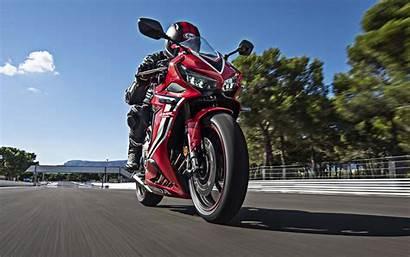 Cbr650r Honda Race Bike Wallpapers Track Sport