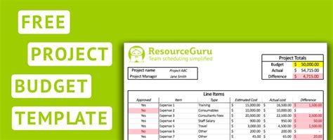 create  ultimate project budget template