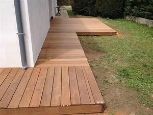Terrasse En Ipe : pose de terrasse en ip dans le rh ne ~ Premium-room.com Idées de Décoration
