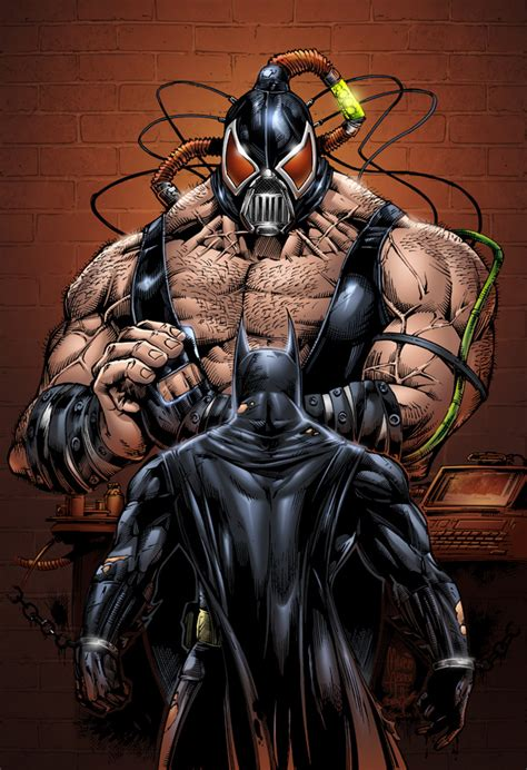 Batman Vs Bane By Seane On Deviantart