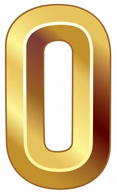 Number Zero Clipart Numbers Symbol Transparent Silhouette