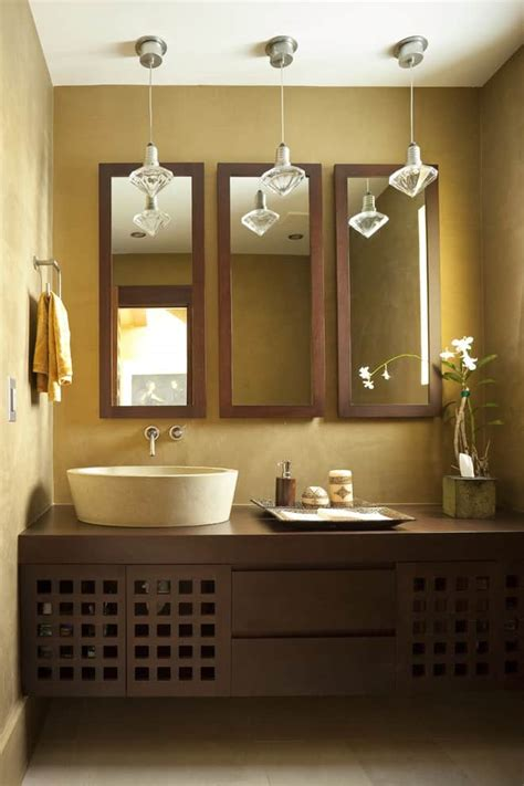 wow   bathroom mirror ideas  enhance  bathroom