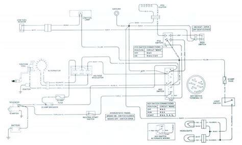 electrical wiring diagram  john deere mower thriftyfun