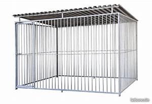 Chenil Extérieur Pour Chien : chenil chien grillage galvanise pour enclos garde de chiens ~ Melissatoandfro.com Idées de Décoration