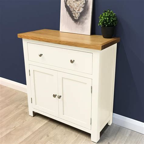 Mini Sideboards by Charlton Painted Oak Mini Sideboard Oak Direct