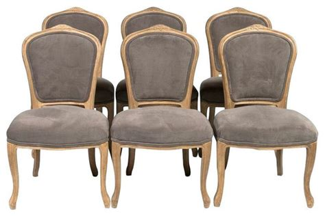 SOLD OUT! Set of 6 Louis XV Style Dining Chairs   $3,000 Est. Retail   $1,620 on