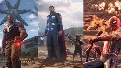 top  los mejores momentos de avengers infinity war