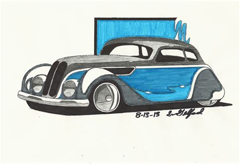 Bmw 327 Coupe Hot Rod By Gelfanddesign On Deviantart