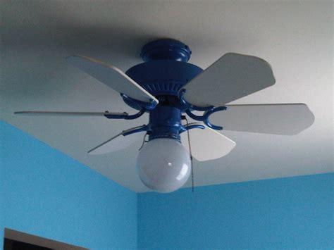Hampton Bay Windward In Blue Ceiling Fan Bays Ceiling